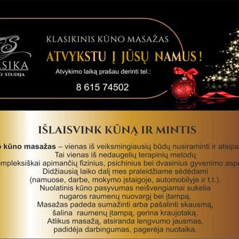 MASAŽAS / Sniegė Bungard / Darbų pavyzdys ID 571303