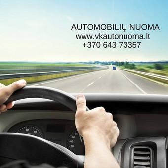 Automobilių nuoma Marijampolėje, Kaune, Visoje Lietuvoje