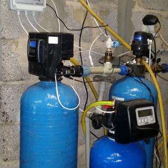 Nugeležinimo filtro renovacija ir kompresoriaus valdiklio įdiegimas