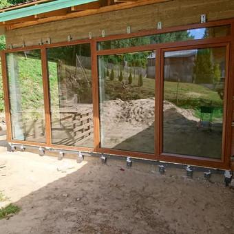 Plastiko, Aliuminio, Medžio profilio langai,durys,pertvaros / UAB / Darbų pavyzdys ID 573277