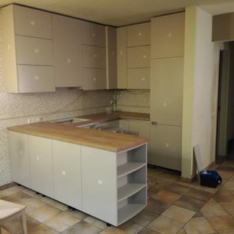 Virtuvės baldai / Žilvinas Baldai / Darbų pavyzdys ID 573369
