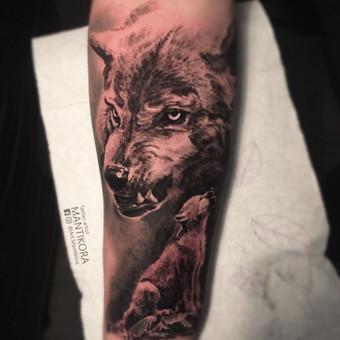 Kietos tattoo tik kietiems. / Evaldas(Mantikora) / Darbų pavyzdys ID 573765