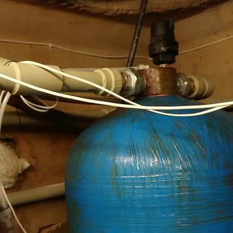 Kapitalinis vandens filtrų atnaujinimas ir naujų technologijų įdiegimas