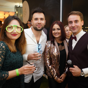 Renginių vedėjas Evaldas Jankantas kartu su DJ komanda / Evaldas Jankantas / Darbų pavyzdys ID 575499