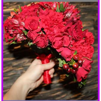 Floristas, gėlių salonas / Olga / Darbų pavyzdys ID 79106