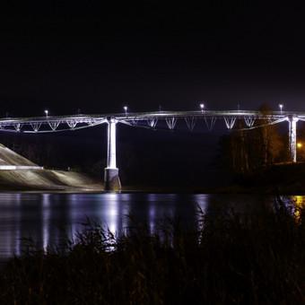 Baltosios rožės tiltas Alytuje