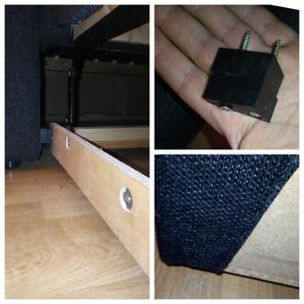 Sofos/Lovos mechanizmų taisymas.  Neverta lovos keisti, tik dėl to, kad kažkas sulūžo - 90 proc. jos pataisomos.