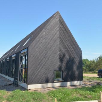 Karkasinių ir skydinių namų statyba / UAB Karkasinių namų meistrai / Darbų pavyzdys ID 579873