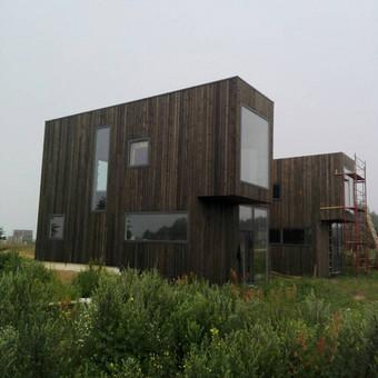 Karkasinių ir skydinių namų statyba / UAB Karkasinių namų meistrai / Darbų pavyzdys ID 579875