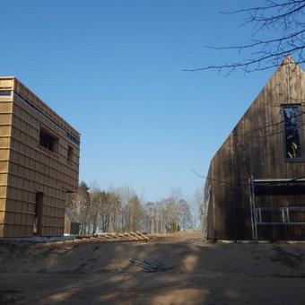 Karkasinių ir skydinių namų statyba / UAB Karkasinių namų meistrai / Darbų pavyzdys ID 579899