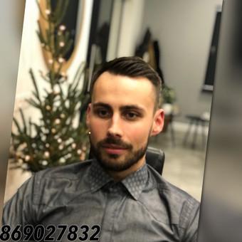 Vyriski kirpimai ir barzdu modeliavimas,skutimas / Loreta / Darbų pavyzdys ID 583015