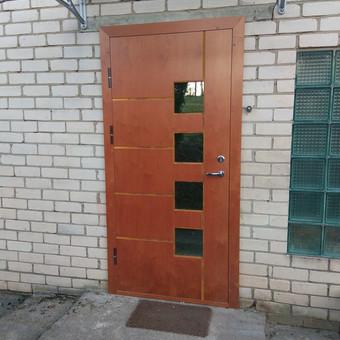 Plastiko, Aliuminio, Medžio profilio langai,durys,pertvaros / UAB / Darbų pavyzdys ID 584627