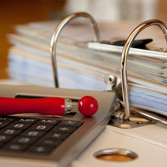Buhalterinė apskaita nuo pirminių dokumentų iki finansinės atskaitomybės.