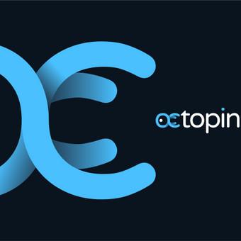 Octopin - smart way to insure   |   Logotipų kūrimas - www.glogo.eu - logo creation.