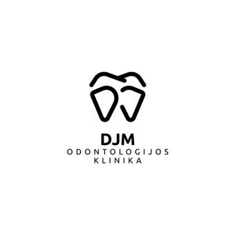 DJM odontologijos klinika - Dariaus ir Juditos Mažučių odontologijos klinika |   Logotipų kūrimas - www.glogo.eu - logo creation.