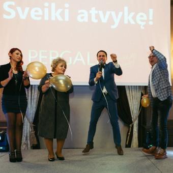 Renginių vedėjas Evaldas Jankantas kartu su DJ komanda / Evaldas Jankantas / Darbų pavyzdys ID 587831