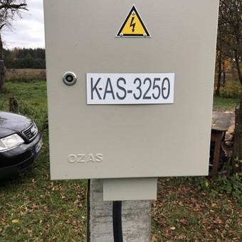 Elektrikas Arvydas / Arvydas / Darbų pavyzdys ID 525147