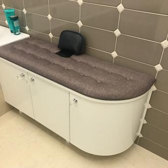 Minkštos 3D sienų plokštės, lovos, galvūgaliai / Gražvydas / Darbų pavyzdys ID 590491