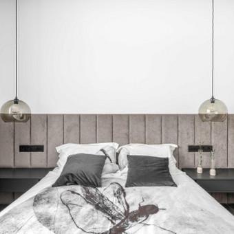 Minkštos 3D sienų plokštės, lovos, galvūgaliai / Gražvydas / Darbų pavyzdys ID 590499