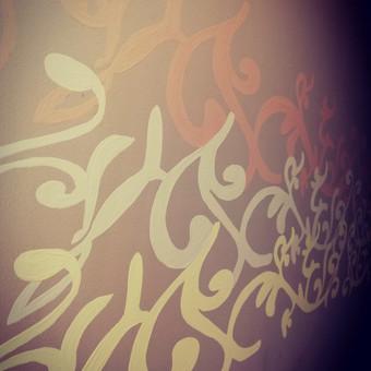 Meninis sienų dažymas / Meninis sienų dekoravimas / Darbų pavyzdys ID 590883