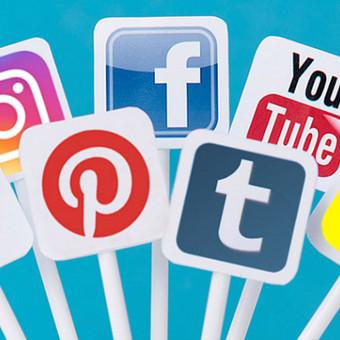 Socialinių tinklų kūrimas bei administravimas. Nuo 90eur/mėn.  • Instagram • Facebook • Twitter • Tumbrl • Pinterest • Web puslapis ir kt.