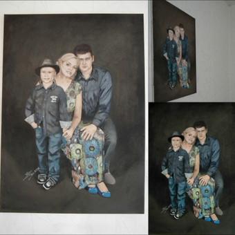 Šeimos portretas 50 x 70