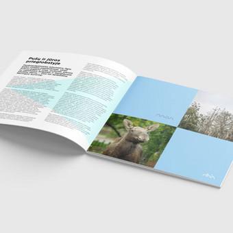Visos maketavimos paslaugos spaudos leidiniams, žurnalams, bukletams, katalogams, reklaminiams leidiniams / Kaina nuo 99 eur už projektą / Maketuotojas Klaipėdoje - www.baltaideja.lt