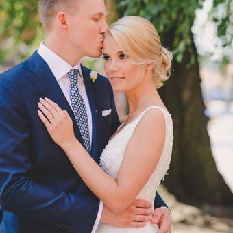 Nuoširdi ir jauki vestuvių fotografija. / Daina / Darbų pavyzdys ID 599871