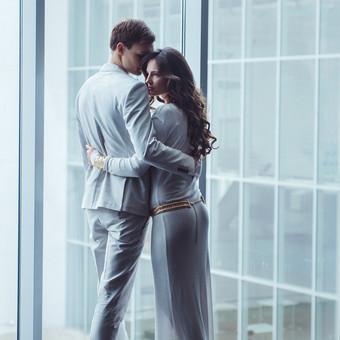 Nuoširdi ir jauki vestuvių fotografija. / Daina / Darbų pavyzdys ID 599873