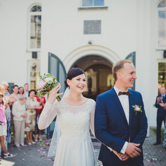 Nuoširdi ir jauki vestuvių fotografija. / Daina / Darbų pavyzdys ID 599885