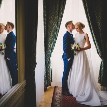 Nuoširdi ir jauki vestuvių fotografija. / Daina / Darbų pavyzdys ID 599887