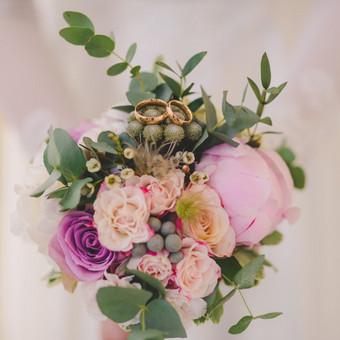 Nuoširdi ir jauki vestuvių fotografija. / Daina / Darbų pavyzdys ID 599889
