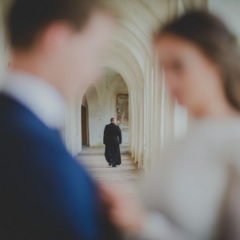 Nuoširdi ir jauki vestuvių fotografija. / Daina / Darbų pavyzdys ID 599893