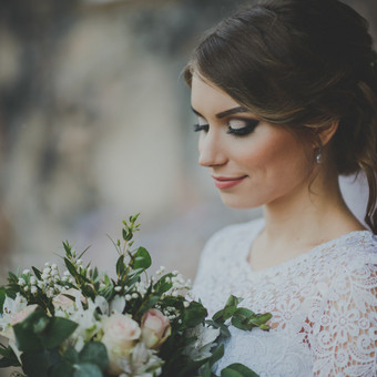 Nuoširdi ir jauki vestuvių fotografija. / Daina / Darbų pavyzdys ID 599897
