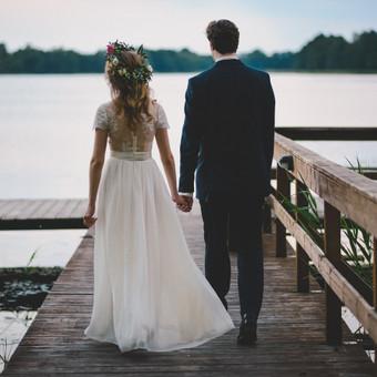 Nuoširdi ir jauki vestuvių fotografija. / Daina / Darbų pavyzdys ID 599899