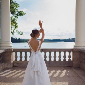 Nuoširdi ir jauki vestuvių fotografija. / Daina / Darbų pavyzdys ID 599907