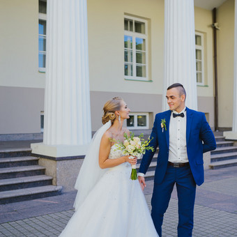 Nuoširdi ir jauki vestuvių fotografija. / Daina / Darbų pavyzdys ID 599909