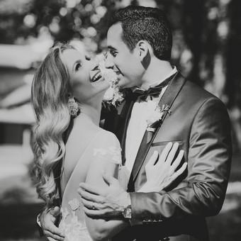 Nuoširdi ir jauki vestuvių fotografija. / Daina / Darbų pavyzdys ID 599913