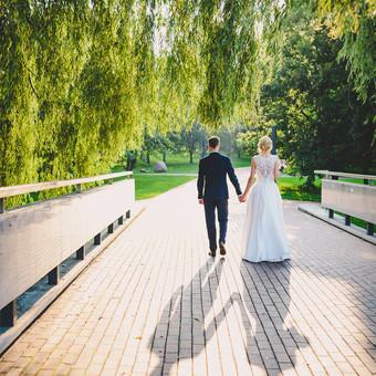 Nuoširdi ir jauki vestuvių fotografija. / Daina / Darbų pavyzdys ID 599915