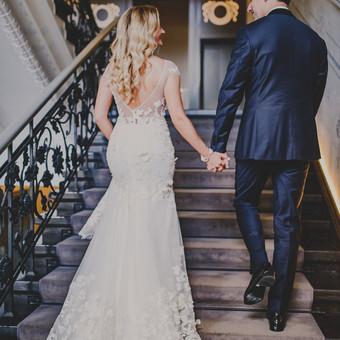 Nuoširdi ir jauki vestuvių fotografija. / Daina / Darbų pavyzdys ID 599927