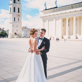 Nuoširdi ir jauki vestuvių fotografija. / Daina / Darbų pavyzdys ID 599931