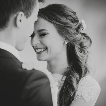 Nuoširdi ir jauki vestuvių fotografija. / Daina / Darbų pavyzdys ID 599937