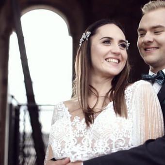 Vestuvių filmavimas nuo 600 eurų.