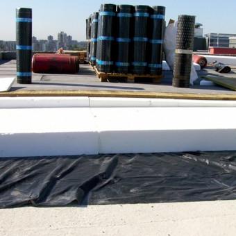 Ploksciu stogu dengimas prilydoma bitumine danga / www.plokstistogai.lt / Darbų pavyzdys ID 600571
