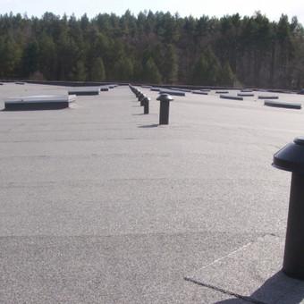 Ploksciu stogu dengimas prilydoma bitumine danga / www.plokstistogai.lt / Darbų pavyzdys ID 600573