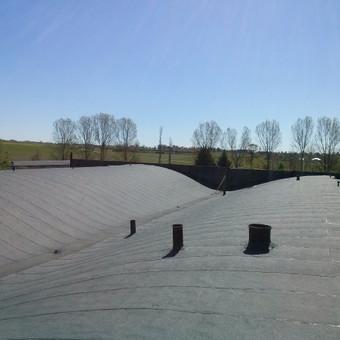 Ploksciu stogu dengimas prilydoma bitumine danga / www.plokstistogai.lt / Darbų pavyzdys ID 600577