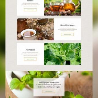 """""""Žolelė.lt"""" elektroninė parduotuvė. Čia parduodamos natūralios arbatos, taip pat talpinami naudingi patarimai apie arbatų vartojimą, naudą ir sveikatinimą.  Daugiau darbų  → http://www ..."""