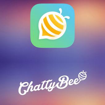 """""""ChattyBee"""" sistemos dizainas - firminis stilius, svetainės ir aplikacijos dizainas.  Daugiau darbų  → http://www.andriusdesigner.com/"""
