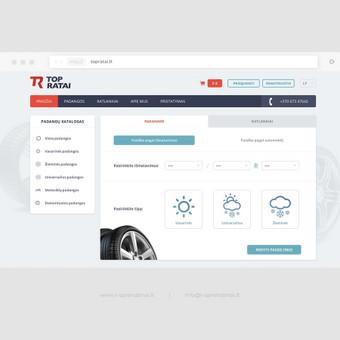 Profesionalių interneto svetainių kūrimas / R-Sprendimai / Darbų pavyzdys ID 604607
