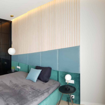 Minkštos 3D sienų plokštės, lovos, galvūgaliai / Gražvydas / Darbų pavyzdys ID 604771